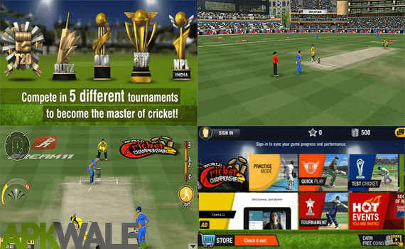 World Cricket Championship 2 MOD Screenshot